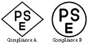 Japan, Compliance Mark